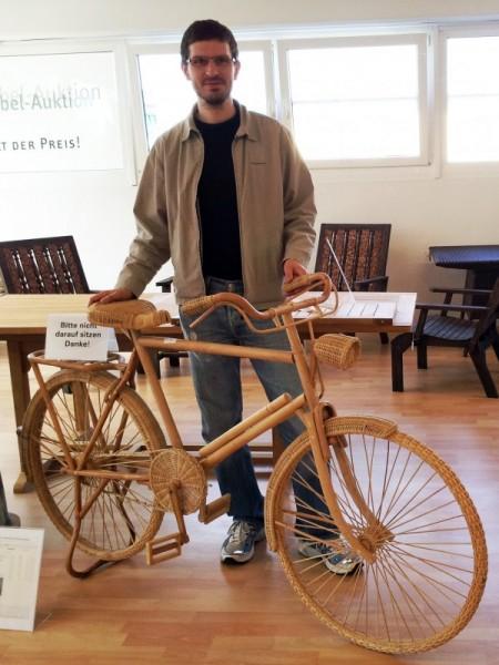 Fahrrad aus Korb