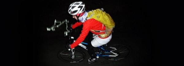 After Work Night Rider mit Mountainbike im Taunus