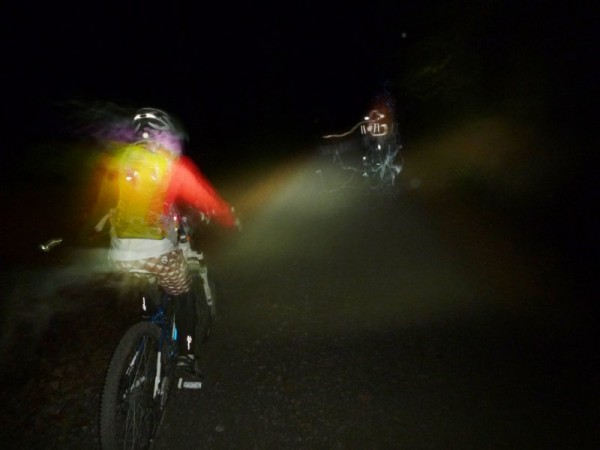 Mountainbiken im Taunus beim Night Rider