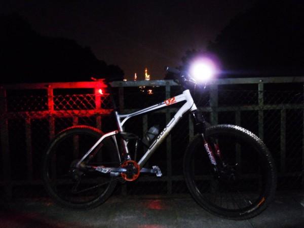 Night Rider 2011 - Feierabendrunde im Frankfurter Stadtwald
