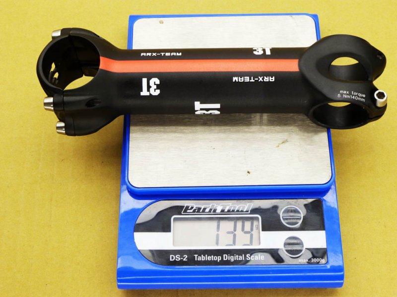 Gewicht Vorbau 3T ARX-Team 140mm 6°