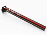 3T Dorico Team Carbonsattelsütze 31,6mm mit Versatz