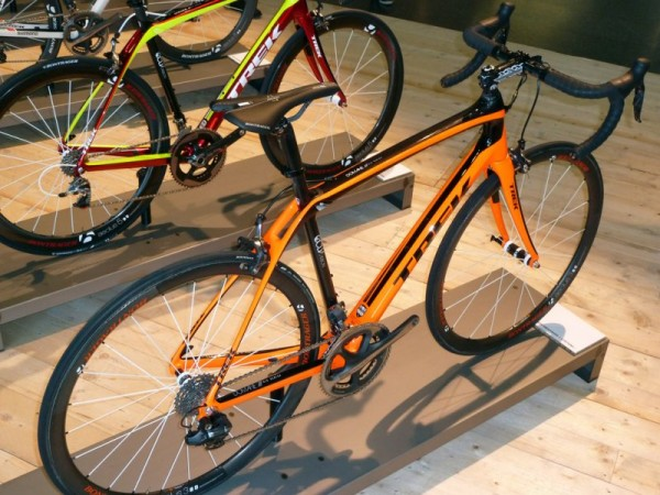 Trek Domane Project One in Orange