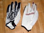 Troy Lee Designs Ace MTB Handschuhe weiß/schwarz